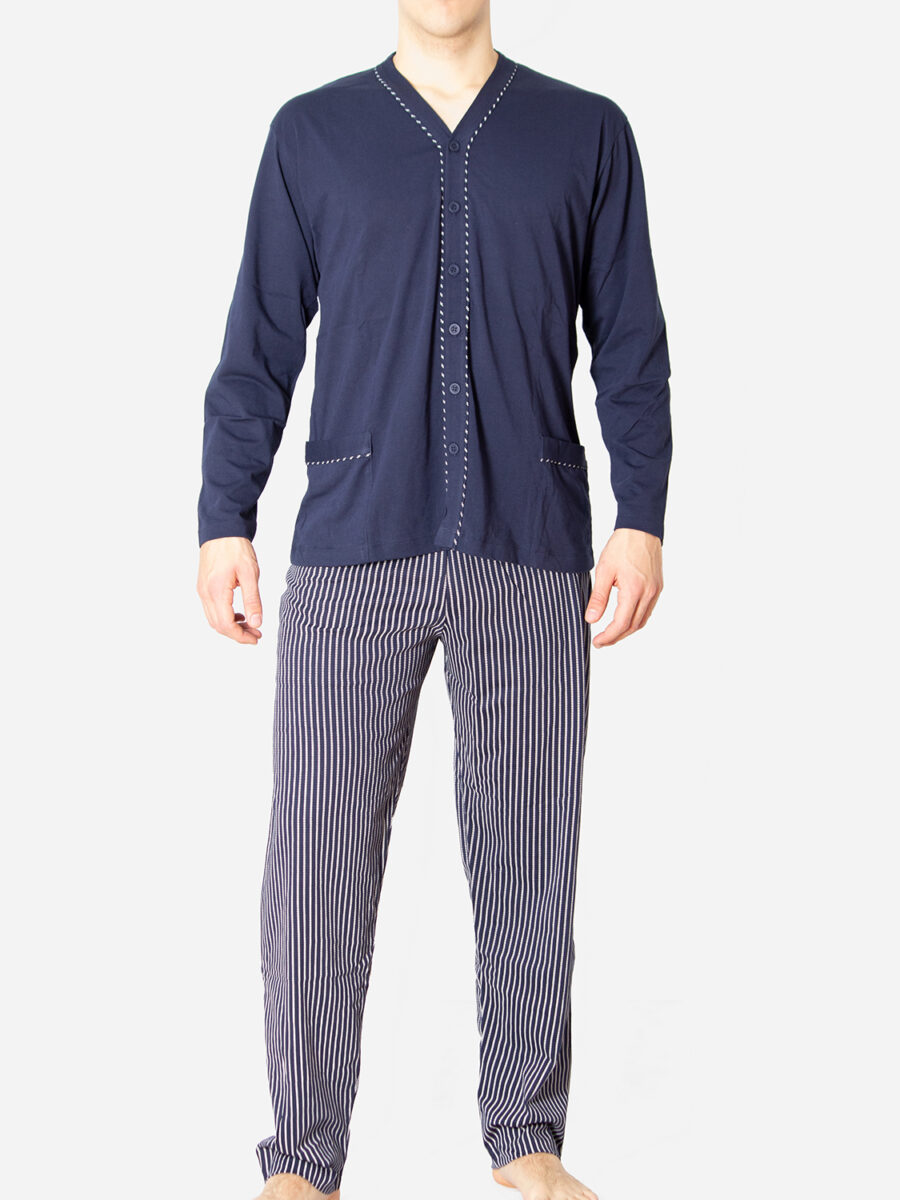 Muška pamućna pidžama
