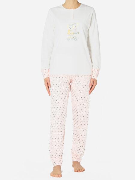 Ženska pamučna pidžama